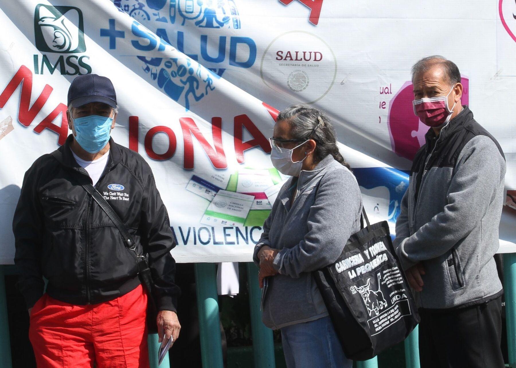 México COVID pico de contagios