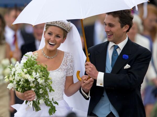 Thomas van Straubenzee y Lady Melissa Percy