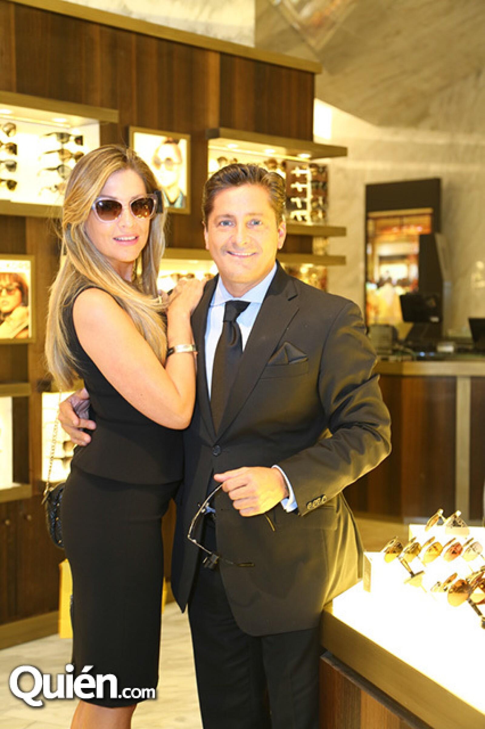 Caroline Robledo y Alejandro Bastieri