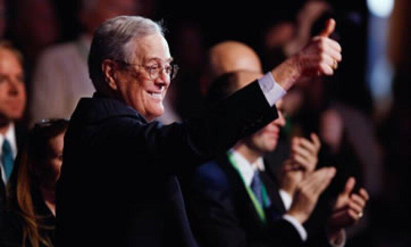 David Koch, vicepresidente ejecutivo de Koch Industries. (Foto: AFP)