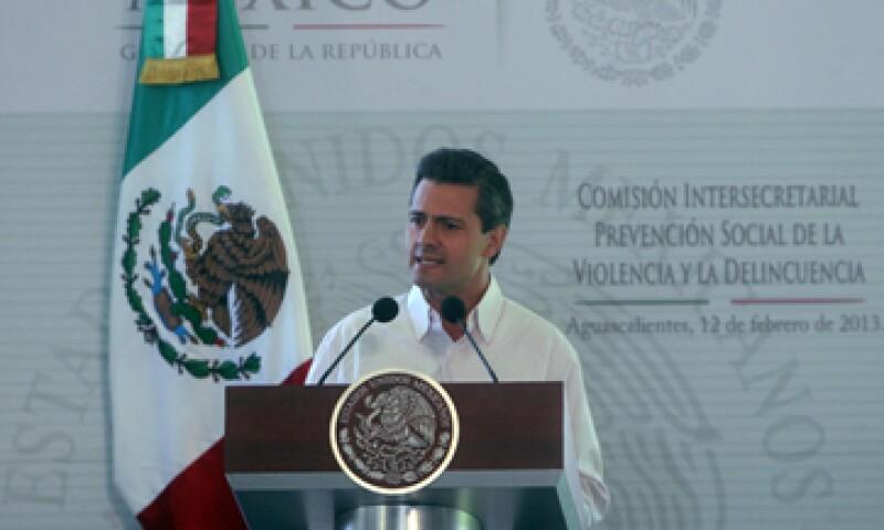 l mandatario refrendó que México no se puede rezagar ni cerrar sus fronteras. (Foto: Notimex)