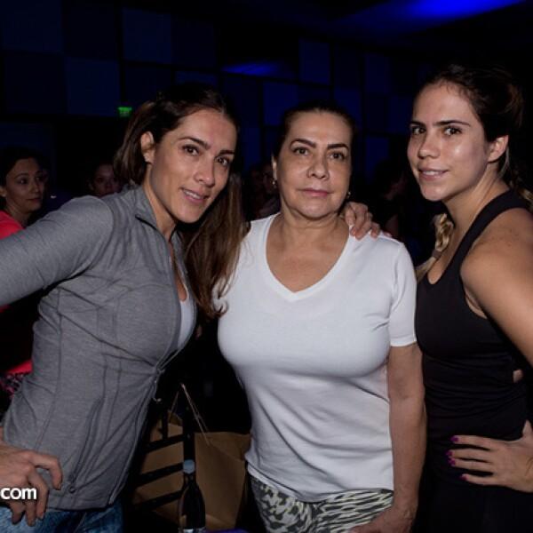 Melisa Veyti, Virginia Montes y Almudena Veyti