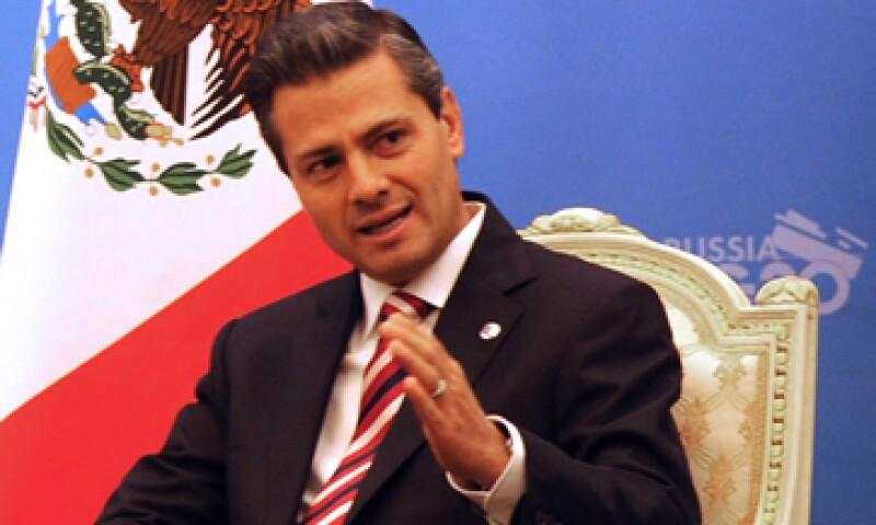 Peña Nieto resaltó que recientemente se han aprobado reformas en materia de educación, competencia económica y telecomunicaciones. (Foto: Notimex)