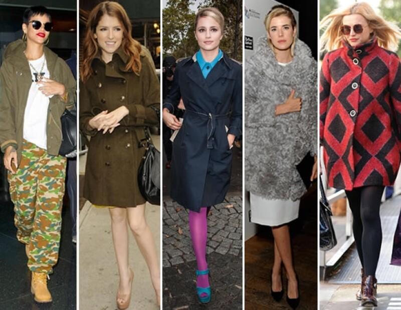 Regresa el frío y con el nuestras prendas invernales así es que no dejes que el estado de tiempo opaque tu look y logra un estilo cool como las celebridades.