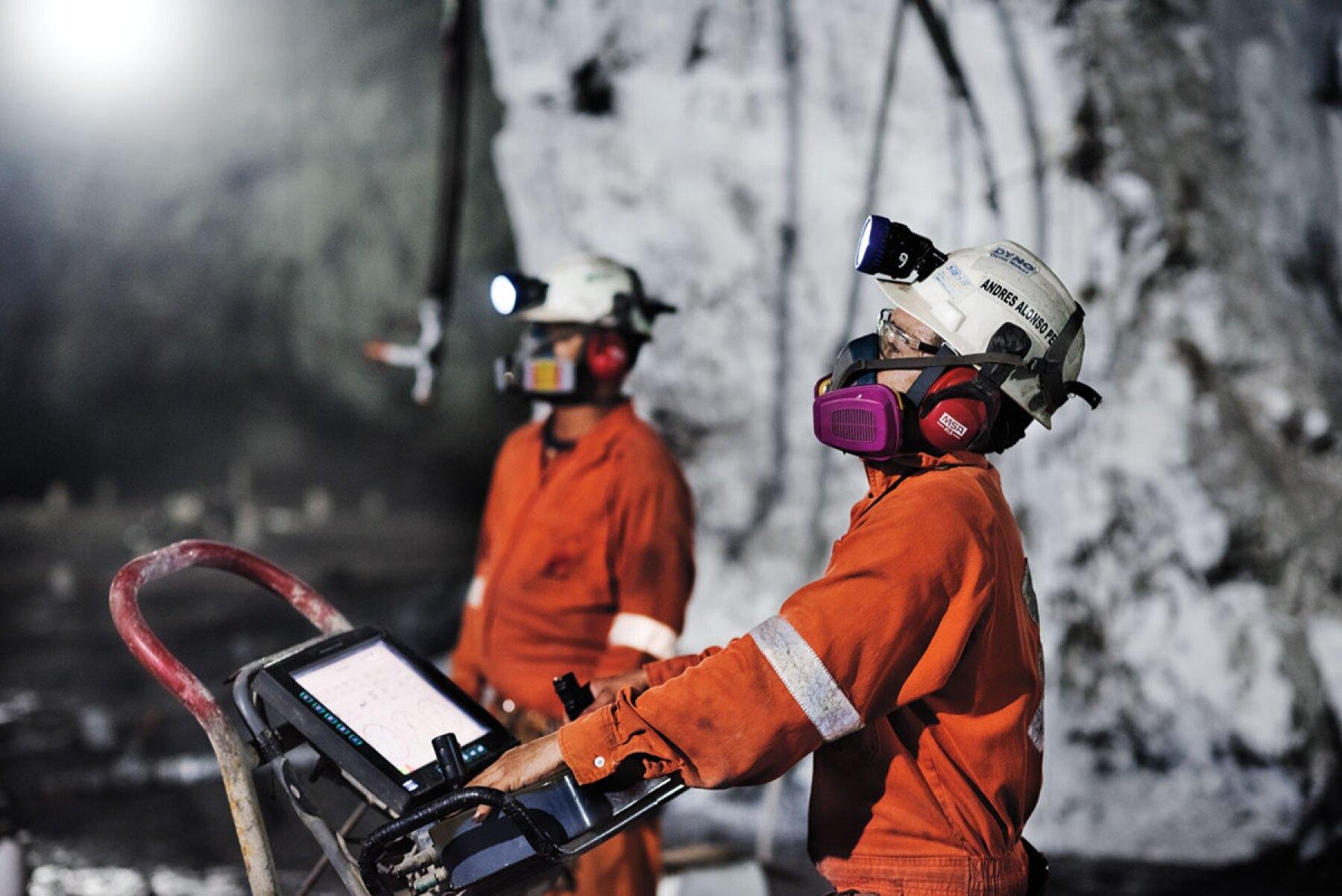 Actividad industrial minería INEGI