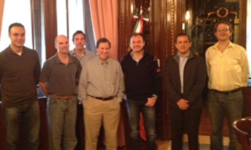 Luis Videgaray publicó en su cuenta de Twitter la imagen de la reunión de este sábado. (Foto: Tomada de Twitter)