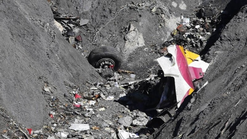 Germanwings avion fuselaje
