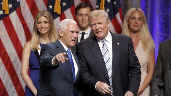 Pence consideró a Trump como el republicano más exitoso después de Ronald Reagan.