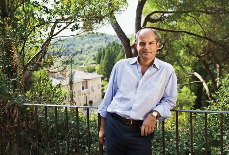 DESTINO. Massimo conoció a su esposa Chiara en un viaje a Grecia, lo irónico es que fueron vecinos por mucho tiempo.