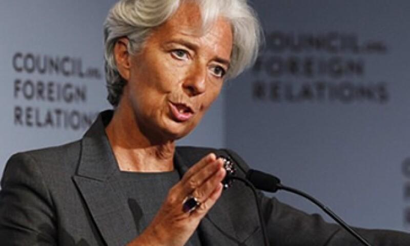 Christine Lagarde, la directora gerente del FMI previno sobre las consecuencias del impago de EU. (Foto: Reuters)