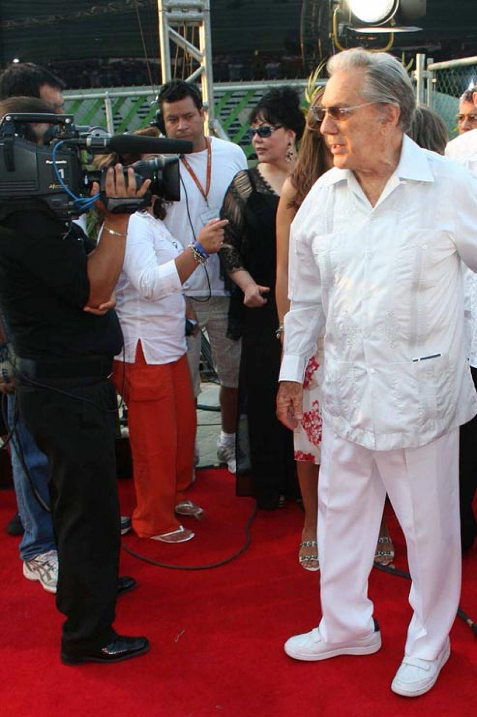 A sus más de 80 años siguió vigente en la televisión mexicana