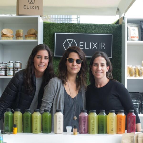 Alejandra Gaxiola, Lucia Lobeira e Isabel Ricci