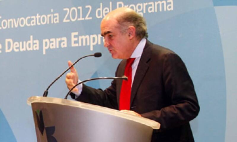 Luis Téllez Kuenzler, presidente de la Bolsa mexicana, dijo que el rumbo del sector energético mexicano está en el ambiente financiero. (Foto: Notimex)