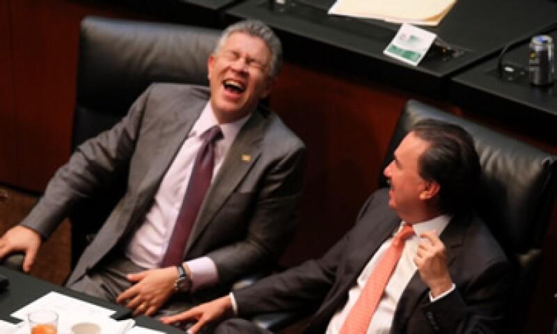 El dictamen con las leyes de Pemex y de la CFE es el tercero de cuatro que queda avalado en el Senado. (Foto: Notimex)