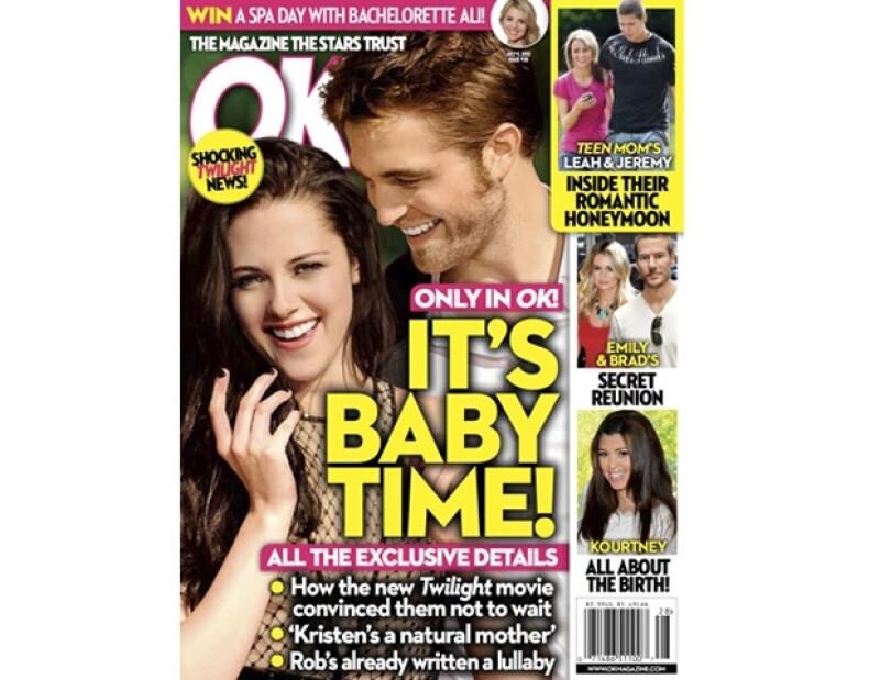 Kristen y Robert se sienten preparados para tener a su primer bebé.