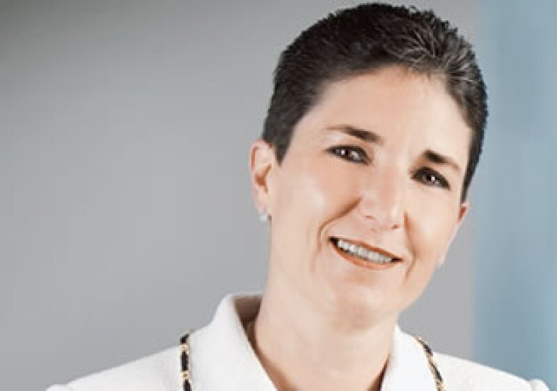Carmina Abad, por su éxito ante la crisis obtiene el puesto de CEO de la subsidiaria Metlife, empresa líder en seguros (Foto: Alfredo Pelcastre / Mondaphoto)