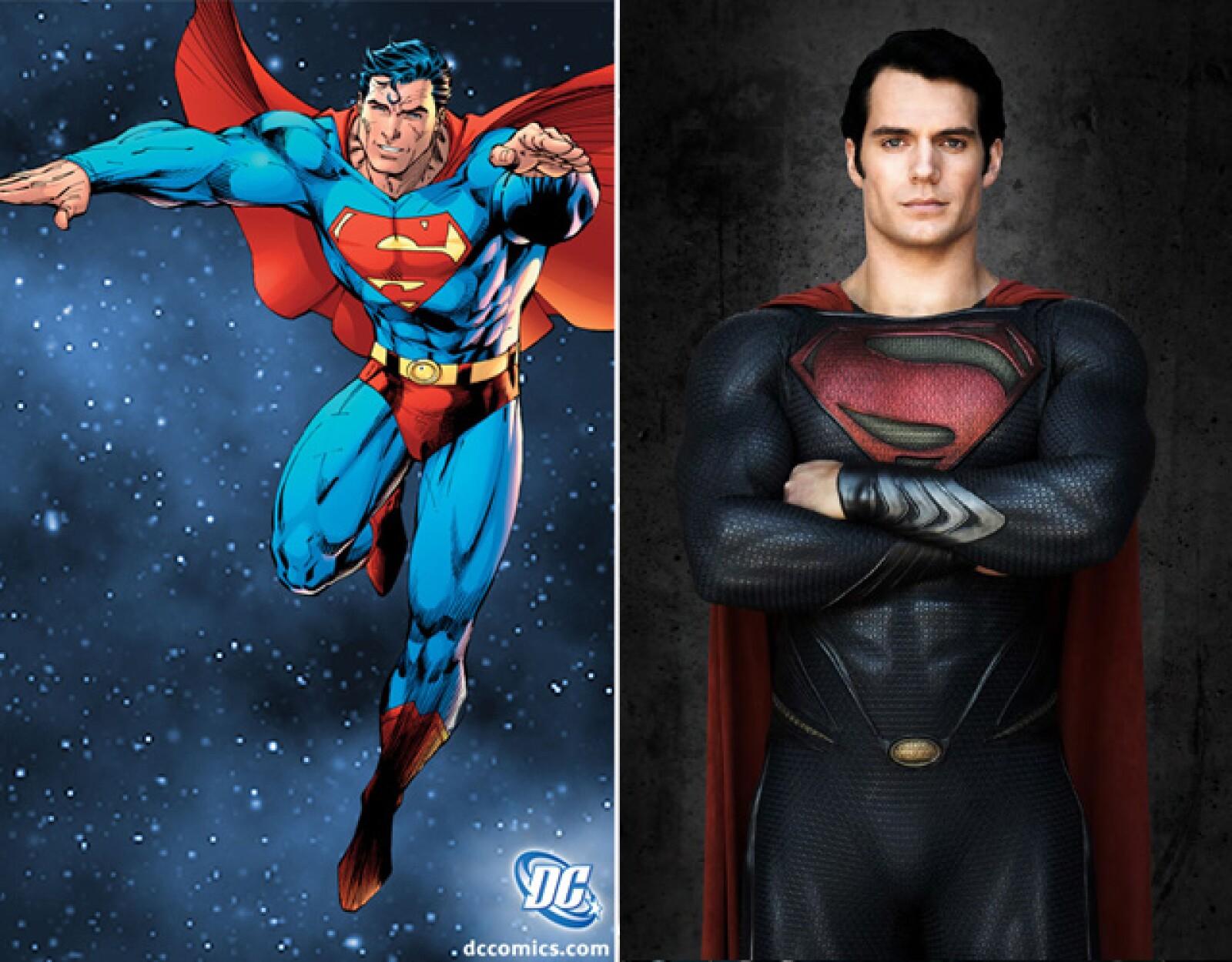 Henry Cavill deleitó con su actuación a los seguidores del Comic de Superman.