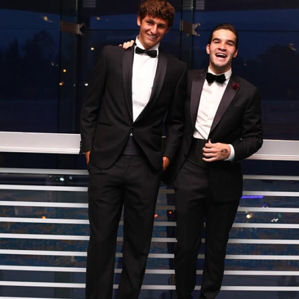 Arturo Elías y Diego Slim