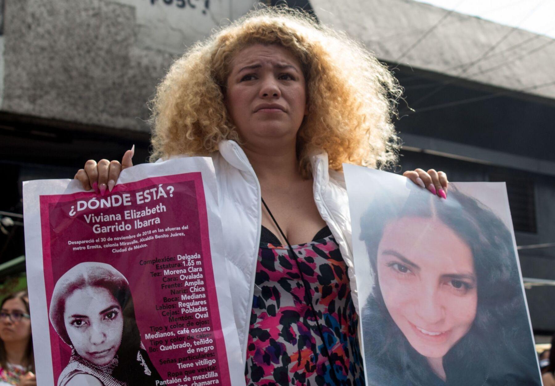 Mujeres desparecidas