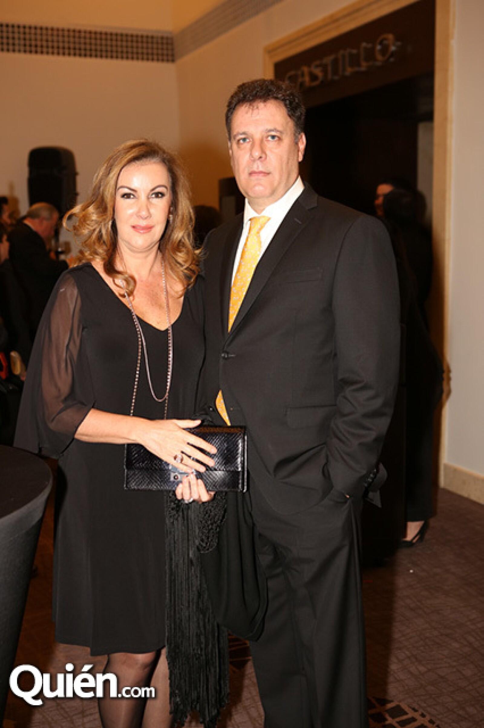 Pilar y Alejandro Becker