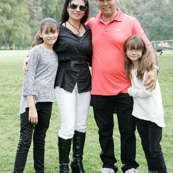 Ana Paula Pozos,Karina Lara,José Pozos y María José Pozos.