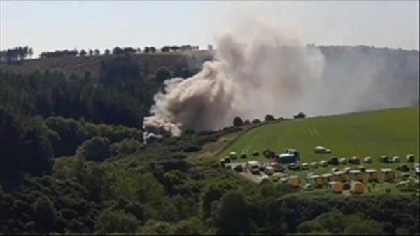 Así ocurrió el descarrilamiento del tren en Escocia