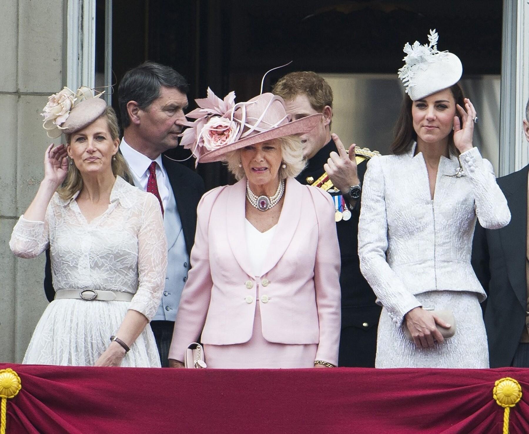 Sophie Wessex, Camila Parker y Kate Middleton