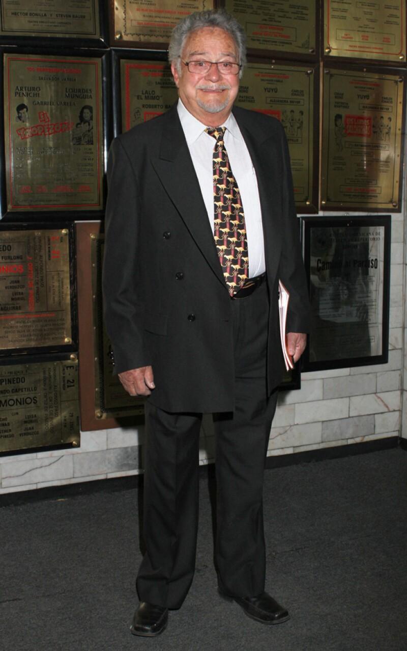 El actor de televisión falleció la madrugada de este martes, a los 88 años, víctima de un infarto al miocardio.