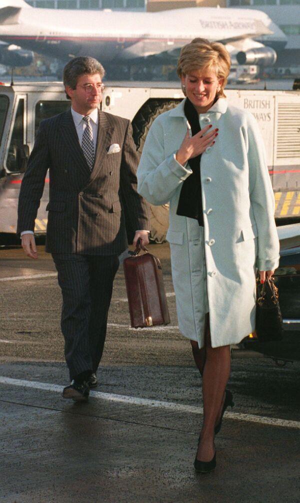 Patrick Jephson y Lady Di