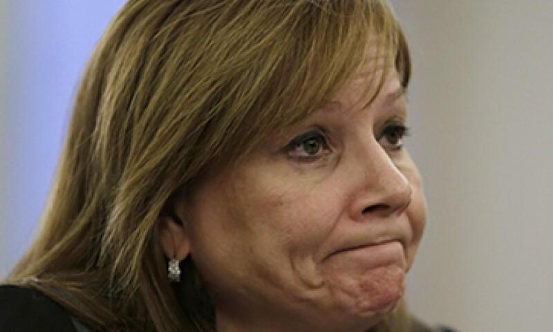 La CEO de GM, Mary Barra, ha comparecido en múltiples ocasiones para responder por las fallas. (Foto: Reuters)