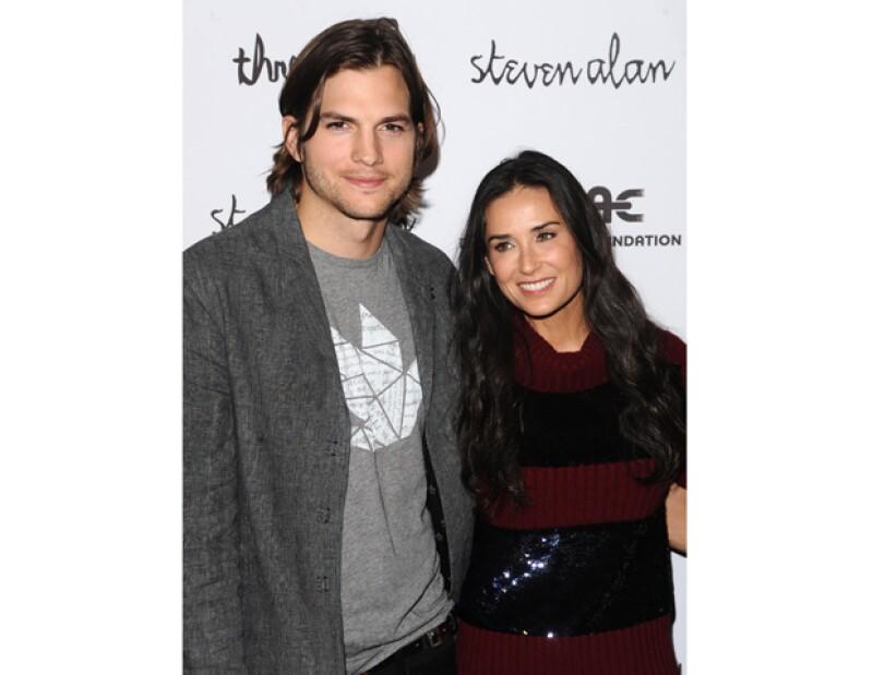 La ex pareja, que rompió el año pasado después de que se dijera que el actor había sido infiel a Demi, han sido vistos en un par de ocasiones juntos en el último mes.
