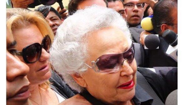 Sara Zabludovsky, esposa del periodista.