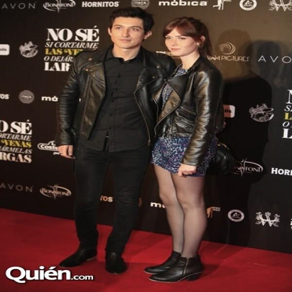 Javier Blake y Carla Sariñana