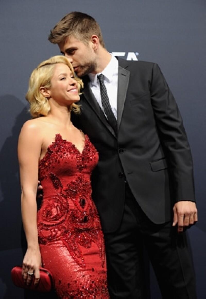 La cantante colombiana y su novio, el futbolista Gerard Piqué, están felices por su primer bebé, se dice que podría llamarse Marc.