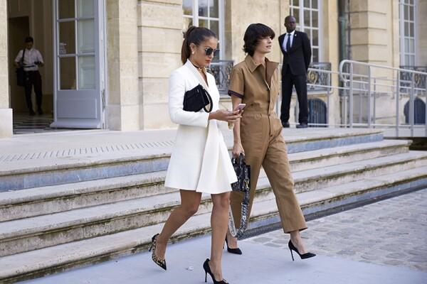 Streetstyle, Spring Summer 2018, Paris Fashion Week, France - 26 Sep 2017