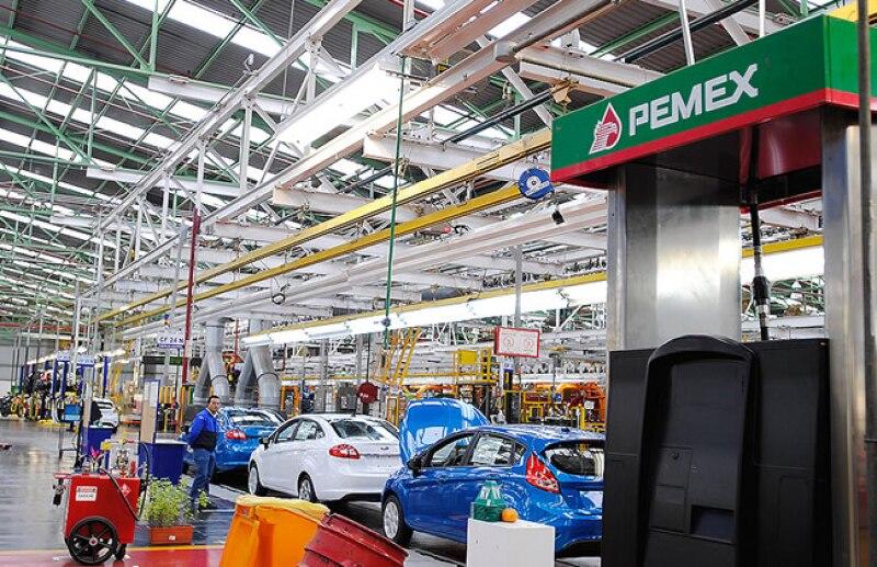 En 2008 Ford invirti� 1,200 mdd en la remodelaci�n de la planta.