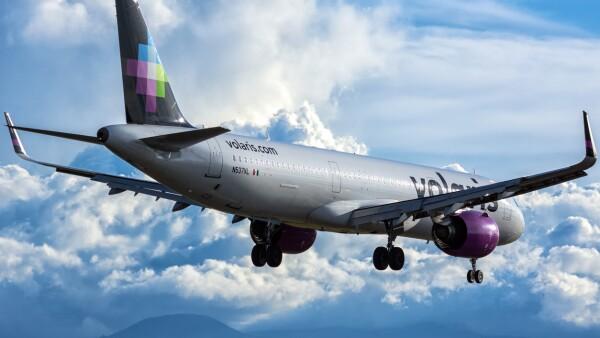 Volaris N537VL Airbus A321NEO aircraft