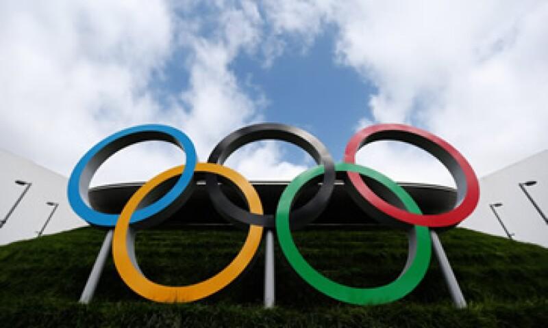 El símbolo de los Juegos Olímpicos en una de las sedes de la edición de Londres, Inglaterra, en 2012 (Foto: Getty Images/Archivo )