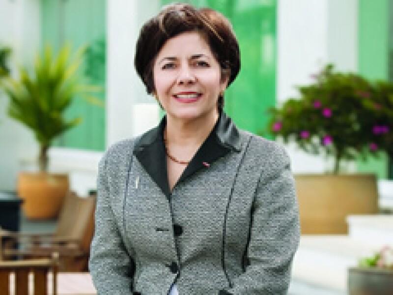 La Presidenta y Directora General de Alstom Mexicana. (Foto: Especial)
