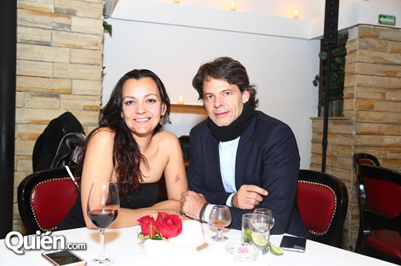 Judith Bernaus y Andrés Pérez