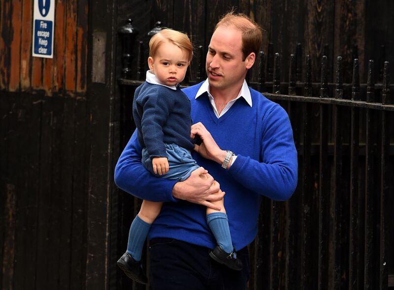 William y el príncipe George