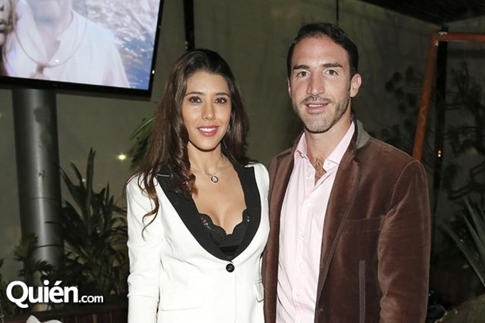 Michelle Ramaglia y Toño de la Vega