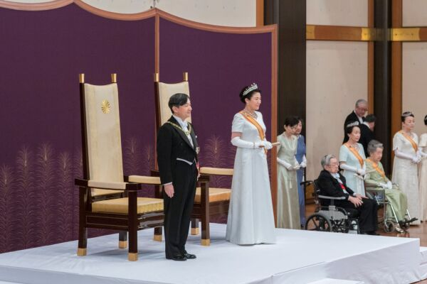 Japan Emperor Naruhito's Enthronement Ceremony