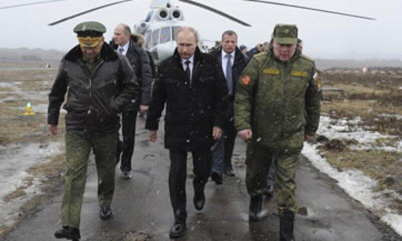 El presidente ruso, Vladimir Putin, declaró que tenía derecho a invadir Ucrania.  (Foto: Reuters)
