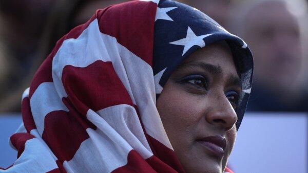 Musulmanes en la mira de Trump