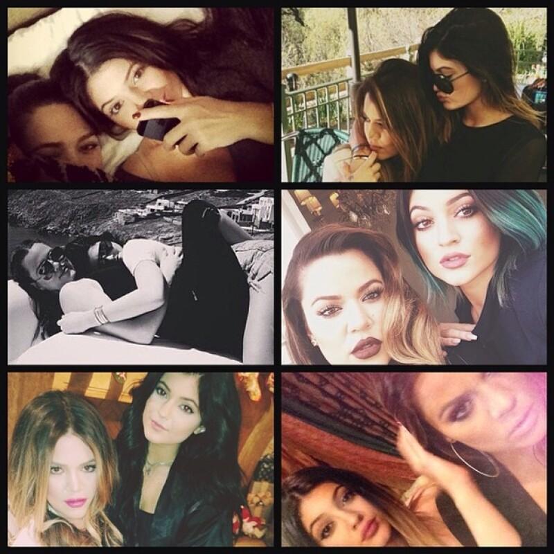 Khloe hizo un collage de sus mejores momentos juntas.