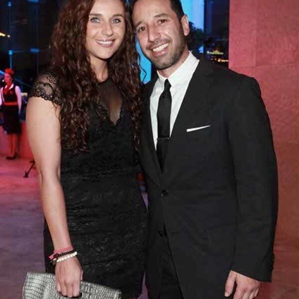 Julia Candano y Mario López