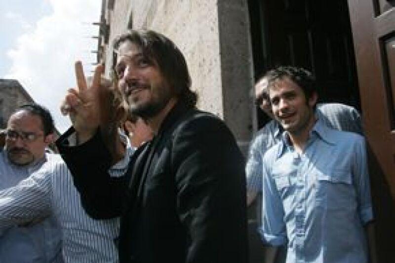 Los actores hablaron de lo que será la cuarta edición de la gira de documentales que cada año se realiza para promover el cine en México y otros países.