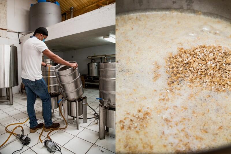 Las maltas que dan vida al mosto que se utiliza para la fermentación son de origen europeo.