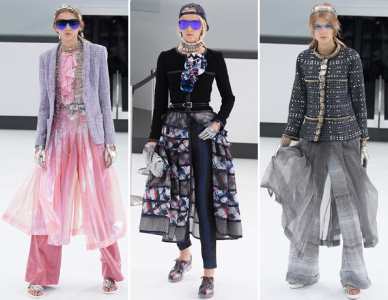 La falda-pantalón de Chanel.